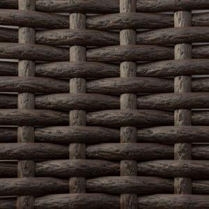 Фото-Искусственный ротанг венге текстура кора