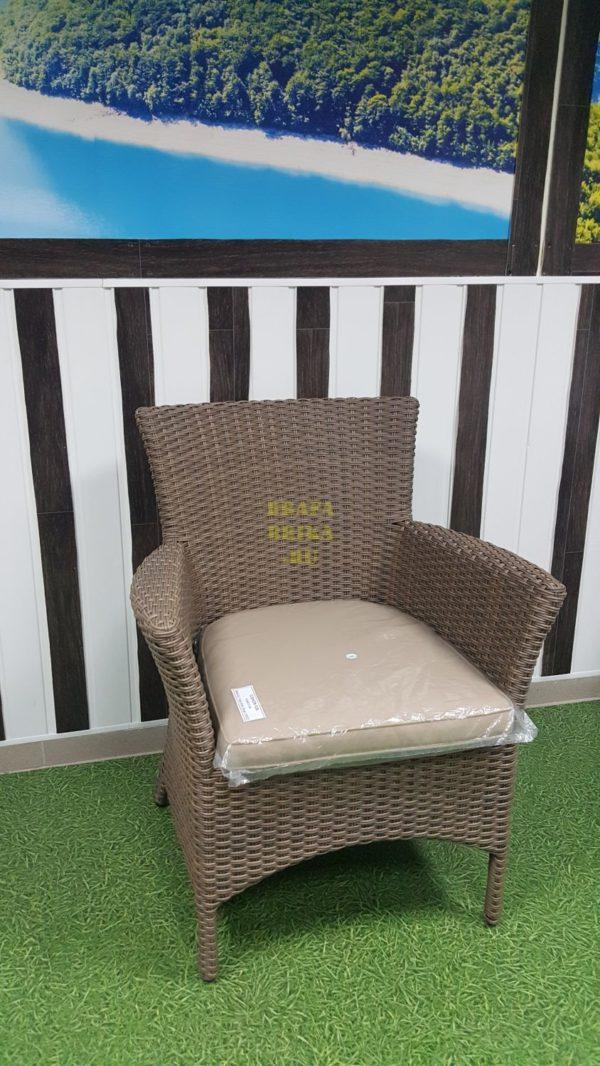 Фото - Кресло из ротанга плетеное Nina Royal beige