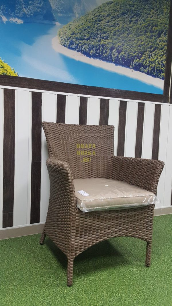 Фото - Кресло плетеное Nina Royal beige