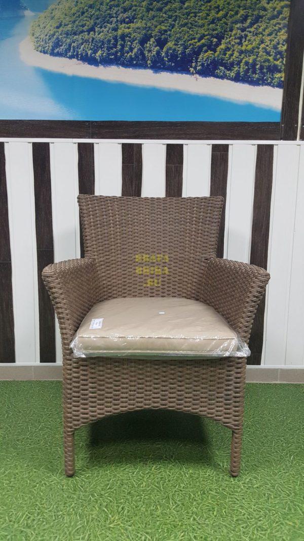 Фото - Кресло плетеное из ротанга Nina Royal beige