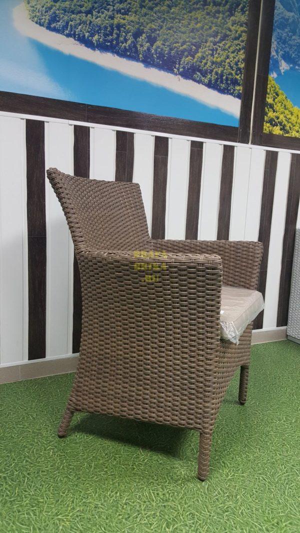 Фото - Кресло ротанговое плетеное Nina Royal beige