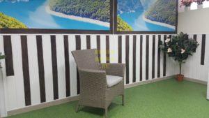 Фото - Nina mocco кресло ротанг - цвет мокко искусственный ротанг