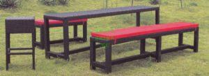 Плетеная мебель Garden Bench