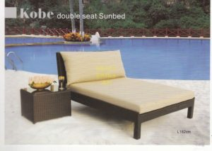 Фото - Плетеная мебель Kobe Sunbed