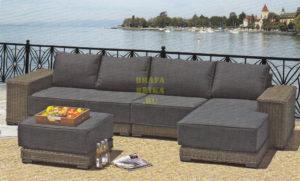 Фото - Плетеная мебель Laguna Lounge