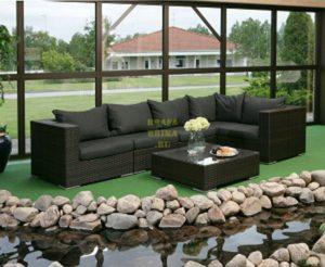 Плетеная мебель Nina Black