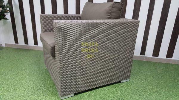 Фото - Кресло из искусственного ротанга Louisiana mocco