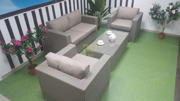 Фото - Комплект мебели ротанг Louisiana Lounge mocco