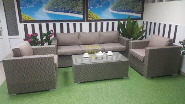 Фото - Набор мебели из искусственного ротанга Louisiana mocco