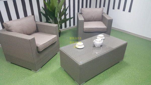 Фото - Набор мебели из ротанга Louisiana cafe set mocco