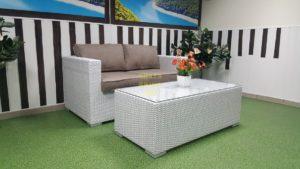 Фото - Плетеная мебель Louisiana hall set white&beige