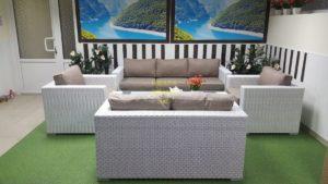Фото - Плетеная мебель Louisiana patio set
