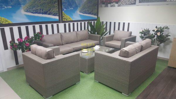 Фото - Плетеная мебель Louisiana patio set mocco
