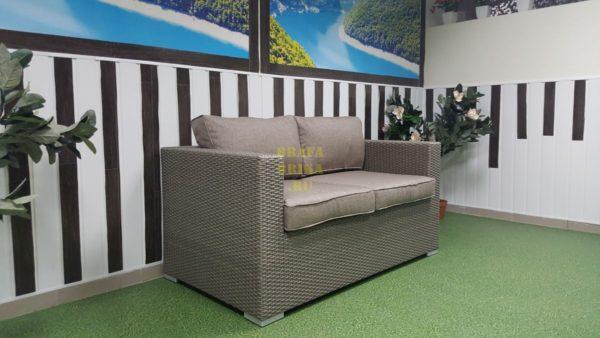 Фото - Плетеный диван Louisiana mocco 2-х местный