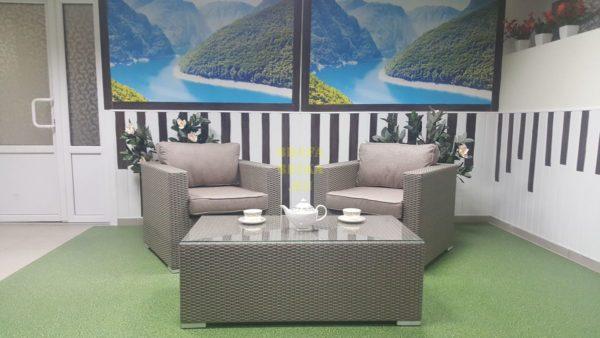 Фото - Садовая мебель Louisiana cafe set mocco