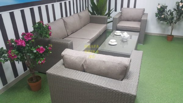 Фото - Садовая мебель из искусственного ротанга Louisiana mocco