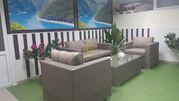 Фото - Садовая мебель ротанг Louisiana Lounge mocco