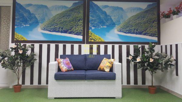 Фото - Садовый диван из ротанга Louisiana