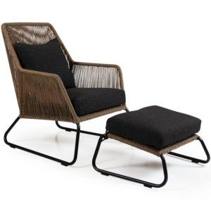 """Фото-Плетеная мебель """"Midway"""" brown Brafab"""
