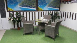 Фото-Плетеная мебель Nina natur Cafe set