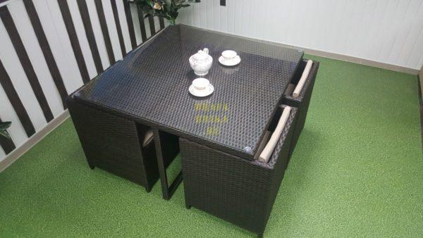 Фото-Плетеная мебель столовая New York