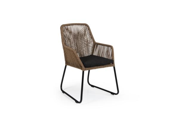 Кресло плетеное Midway brown Brafab фото 2