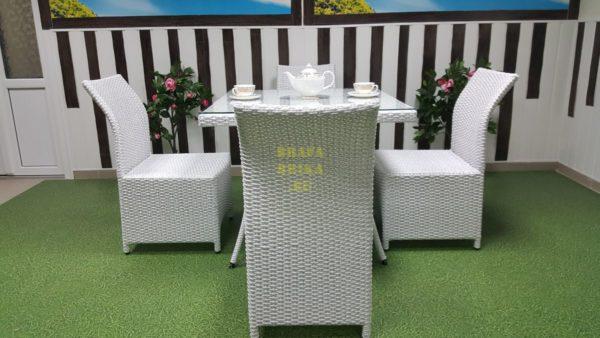 Фото-Мебель из искусственного ротанга Rose 4 white