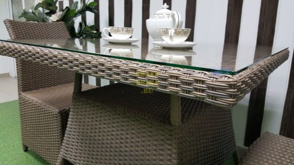 Фото-Мебель плетеная Rose 2 beige