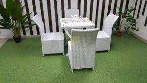 Фото-Плетеная мебель Arizona 4 white