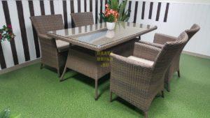 Фото-Плетеная мебель Samurai 160 beige 4