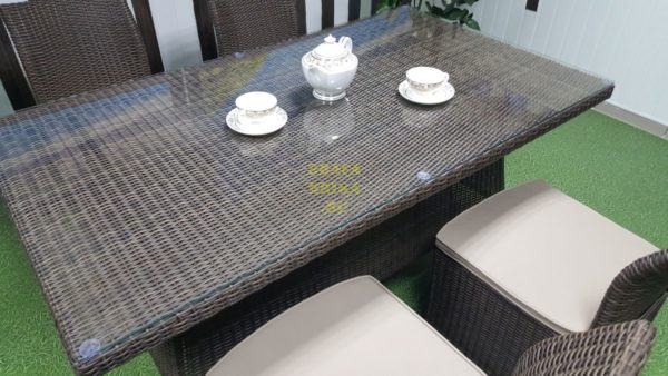 Фото-Ротанг искусственный мебель Rose royal brown 4