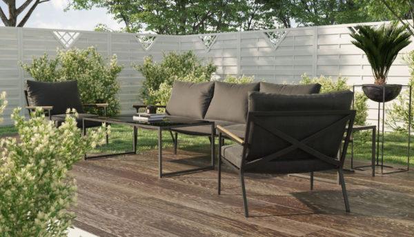 Садовая мебель Calma Lounge anthracite Gardenini