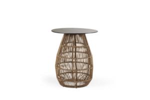 Ajnj-Арт. 4077-61-8 Pamir brown стол плетеный