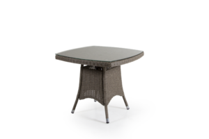 Фото-Ashfield бежевый стол плетеный кофейный Brafab