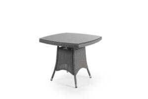 Фото-Ashfield grey стол кофейный плетеный Brafab