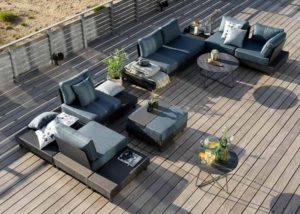 Фото-Battleford Brafab Садовая мебель из алюминия