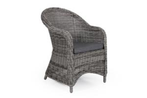 Фото-Eads grey плетеное кресло Brafab Арт. 3920-74-70
