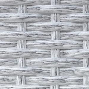 Фото-Искусственный ротанг Flat White Wood