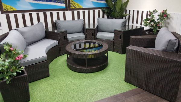 Фото-Комплект плетеной мебели Galaxy 8