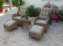 "Фото-Плетеная мебель ""Rosita"" natur лаунж Brafab"