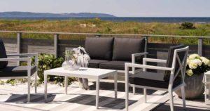 Фото-Садовая мебель из алюминия SORBA