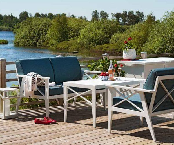 Фото-Садовая мебель из алюминия SOTTENVILLE Brafab