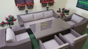 "Фото-Плетеная мебель ""Glendon"" royal beige"