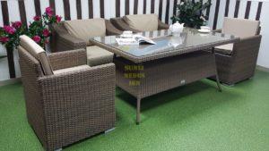 Фото-Плетеная садовая мебель Glendon & Infinity 6