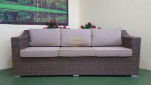 Фото-Плетеный диван Glendon beige