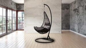 """Фото-Подвесное кресло """"VOLO"""" black"""