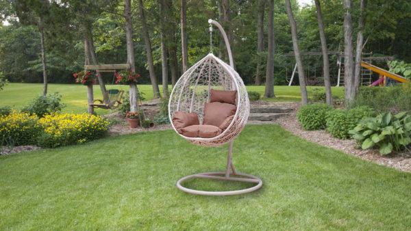"""Фото-Подвесное кресло """"MOTI"""" white"""