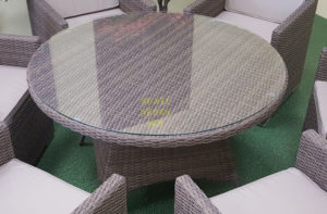 Фото-Стол плетеный Nina 150см