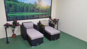 Фото-Acoustic relax комплект плетеной мебели