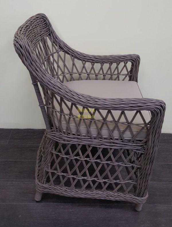 Фото-Кресло из искусственного ротанга Beatrix beige
